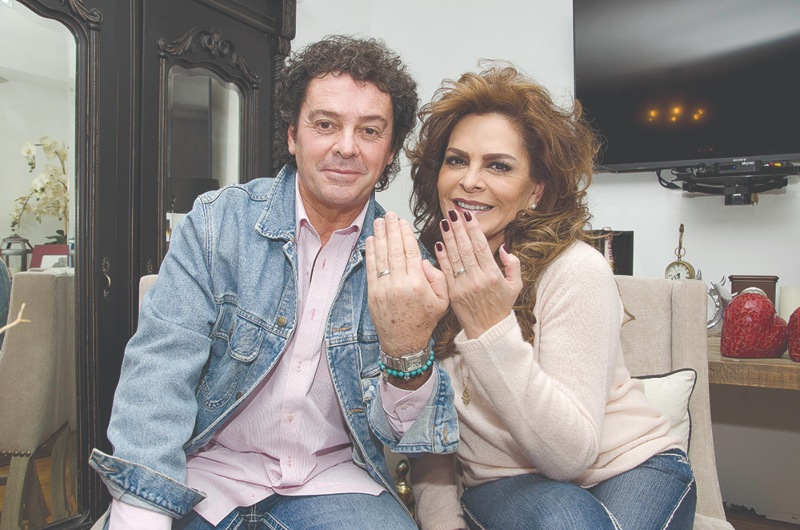 Mara Patricia Castañeda e Iván Martínez | Foto: Javier Arellano