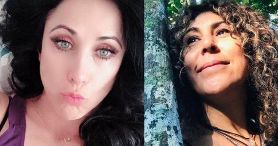 Mónica Noguera y Vica Andrade. Foto: Instagram