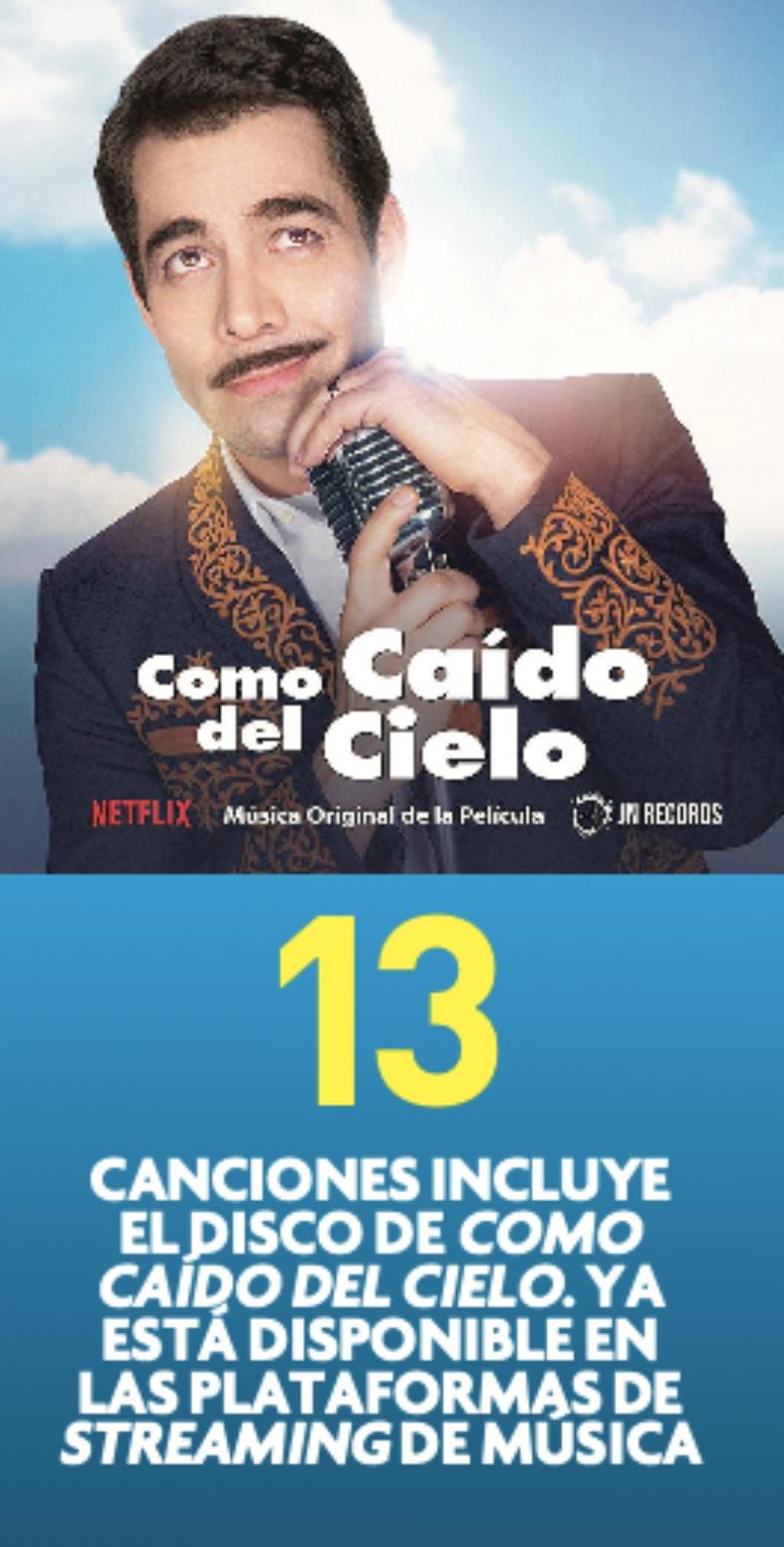 Como caído del cielo, Omar Chaparro | Foto: Netflix y JN Records