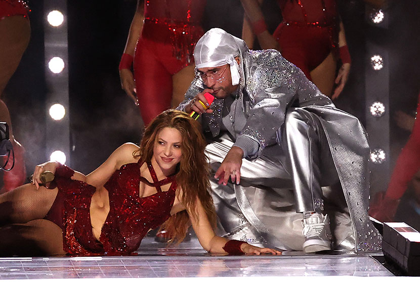 Shakira y Bad Bunny | Foto: Getty Images