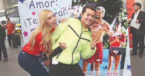 Yulianna Peniche y José Luis 'Parejita' López | Foto: Edson Vázquez