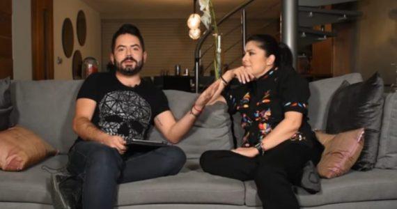 José Eduardo Derbez y Victoria Ruffo. Captura de pantalla YouTube