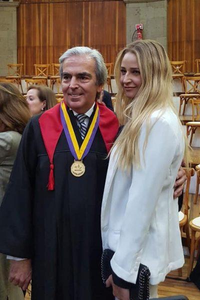 Lorenzo Lazo y Lourdes Peláez. Foto: Facebook