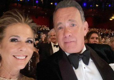 Rita Wilson y Tom Hanks. Instagram @ritawilson