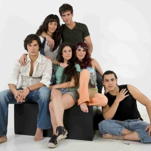Brandon Peniche, Esmeralda Pimentel, Pablo Lyle, Christina Mason, DulceMaría, Carlos Speitzer. Foto: Archivo