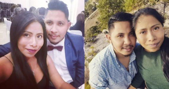 Yalitza Aparicio y Andre Montes. Fotos: Instagram