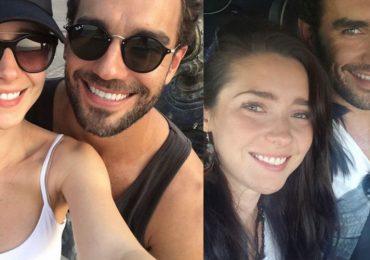 Ariadne Díaz y Marcus Ornellas. Foto: Instagram