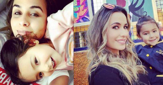 Odalys Ramírez y Gia. Foto: Instagram