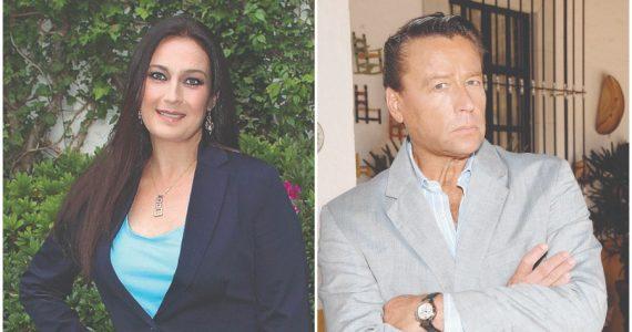 Diana Golden y Alfredo Adame | Foto; José Luis Ramos y archivo
