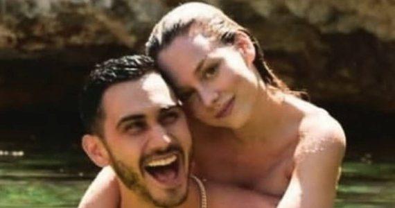 Ester Expósito y Alejandro Speitzer. Foto: Instagram