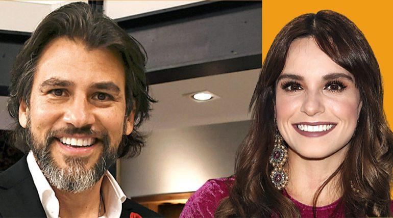 Mauricio Barcelata y Tania Rincón   Foto: Especial