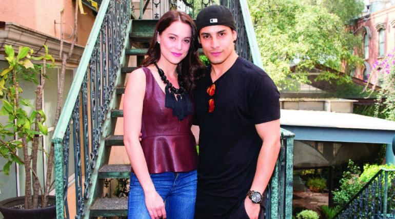 Ligia Uriarte y Alex Perea. Foto Edson Vásquez