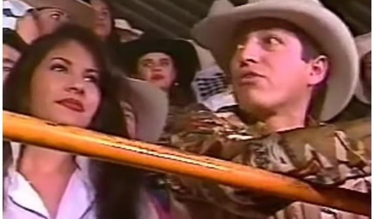 Selena Quintanilla y Ramiro Delgado. Foto: Captura dr video