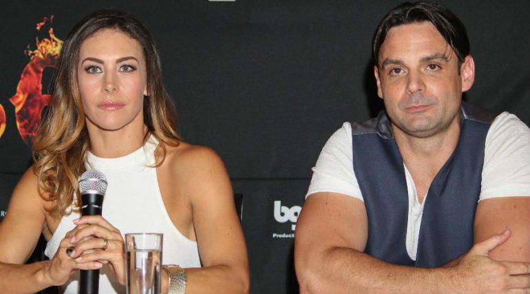 Vanessa Guzmán y Uberto Bondoni. Foto: Archivo TVyNovelas