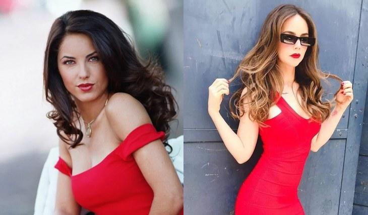 RUBÍ. Bárbara Mori y Camila Sodi. Fotos: Archivo