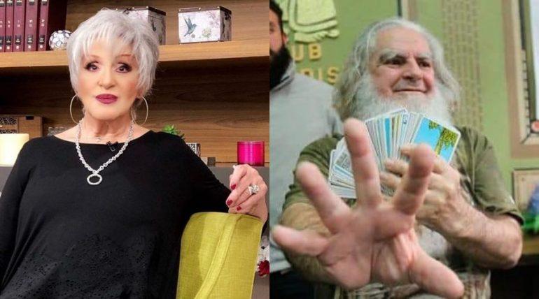 Anel Noreña vs. el Brujo Mayor. Fotos: Instagram
