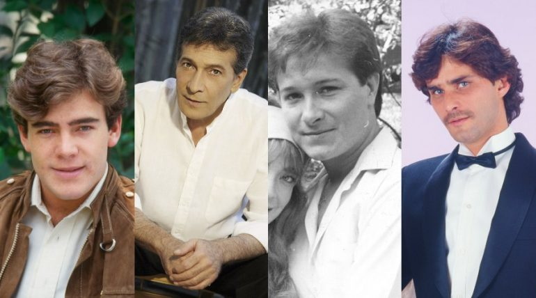 Galanes de telenovelas que hoy son Primeros actores. Fotos: Archivo