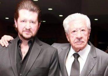 Juan Ignacio Aranda y Don Ignacio L´pez Tarso. Foto: Facebook
