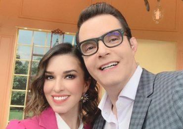 Laura G y Horacio Villalobos en Venga la alegría. Foto: Instagram