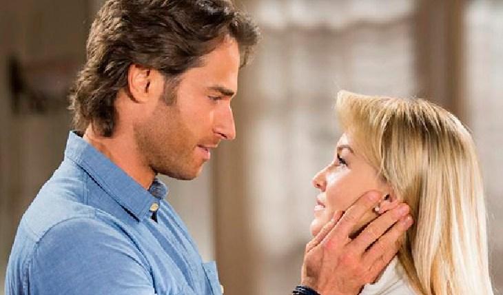 Sebastián Rulli y Angelique Boyer (Lo que la vida me robó) Foto: Archivo TVyNovelas