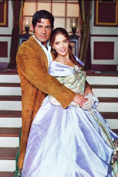 Fernando Colunga y Adela Noriega (Amor real). Foto: Archivo TVyNovelas