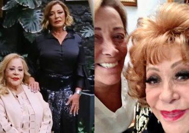 Sylvia Pasquel y Silvia Pinal. Fotos: Instagram