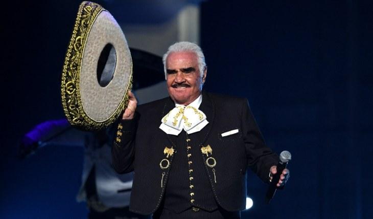 Vicente Fernández. Foto: Getty Images