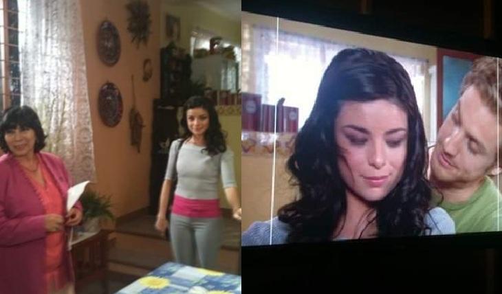 Violeta Isfel en casting de Teresa. Foto: Facebook