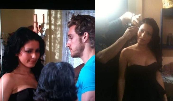 Adriana Fonseca y Eugenio Siller en casting para Teresa. Foto: Facebook