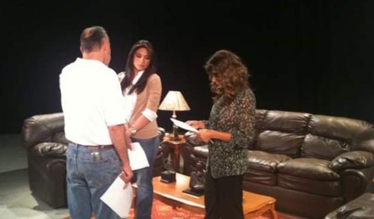 Ana Brenda en casting de Teresa. Foto: Facebook