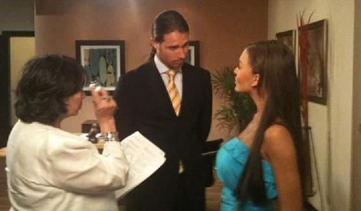 Angelique y Sebastián en su casting para Teresa. Foto: Facebook