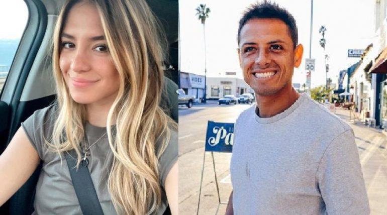 """Sarah Kohan y Javier """"Chicharito"""" Hernández. Foto: Instagram"""