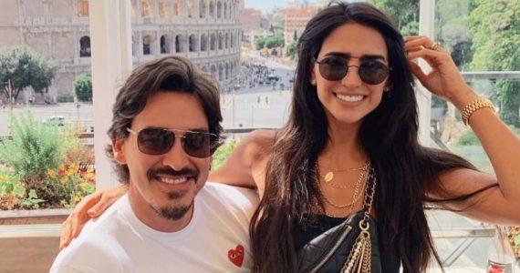 Fernando Schoenwald y Bárbara de Regil. Foto: Instagram