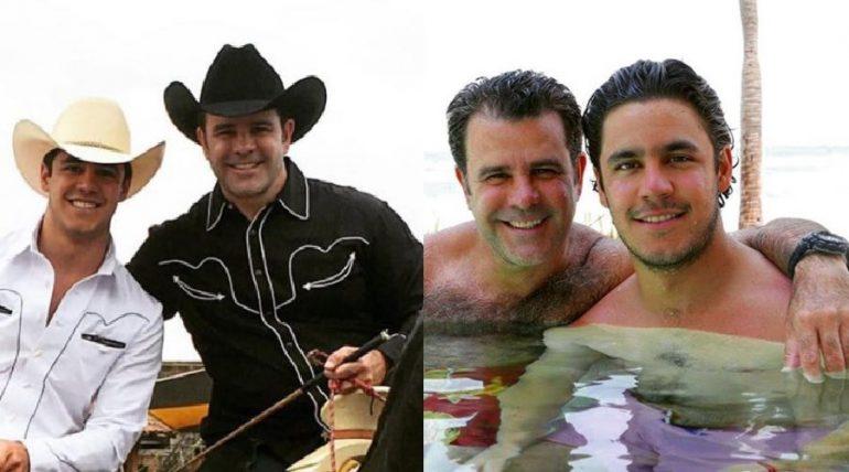 Eduardo Capetillo y Eduardo Capetillo Jr. Foto: Instagram