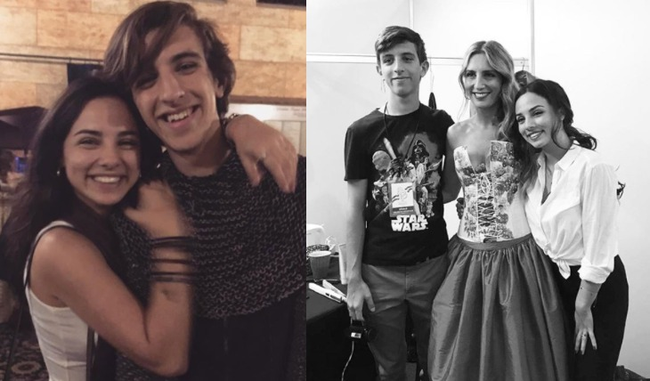 Carina Rico, Luca y Fiona Palomo. Foto: Instagram