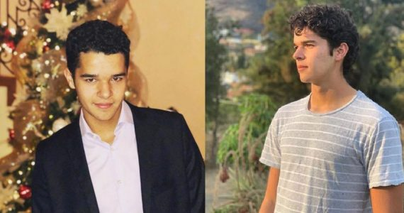 Roberto, hijo de Eduardo Santamarina e Itatí Cantoral. Foto: Instagram