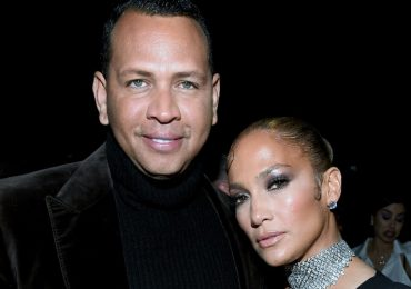 J.Lo y Alex Rodríguez. Foto: Getty Images