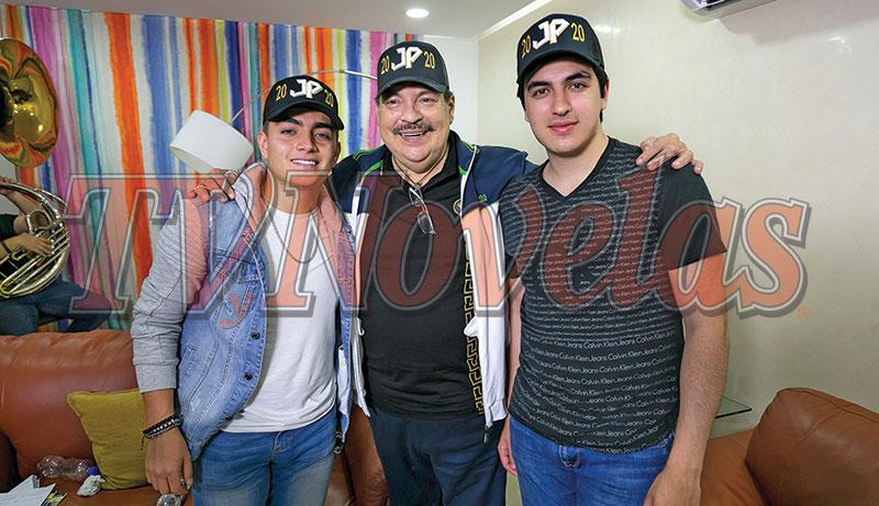 Julio Preciado,Julio Haro y Raúl Hernández | Foto: Jorge Soltero