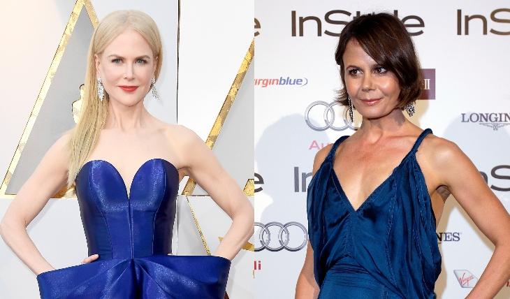 Nicole y Antonia. Fotos: Getty Images