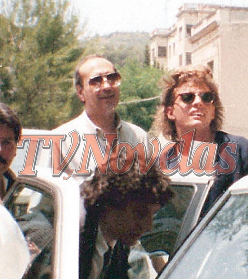 Luis Miguel y Hugo López | Foto: Cortesía