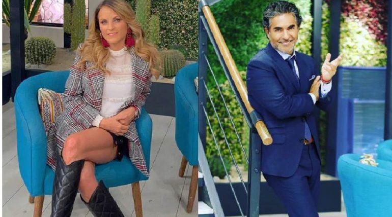 María Amelia Aguilar y Raúl Araiza. Foto: Instagram