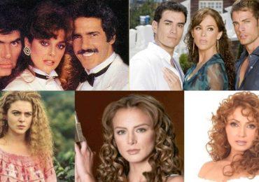 Actrices que han interpretado el mismo papel. Fotos: Archivo / Internet / Televisoras