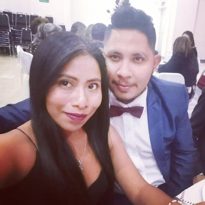 Yalitza Aparicio y André Montes | Foto: Instagram