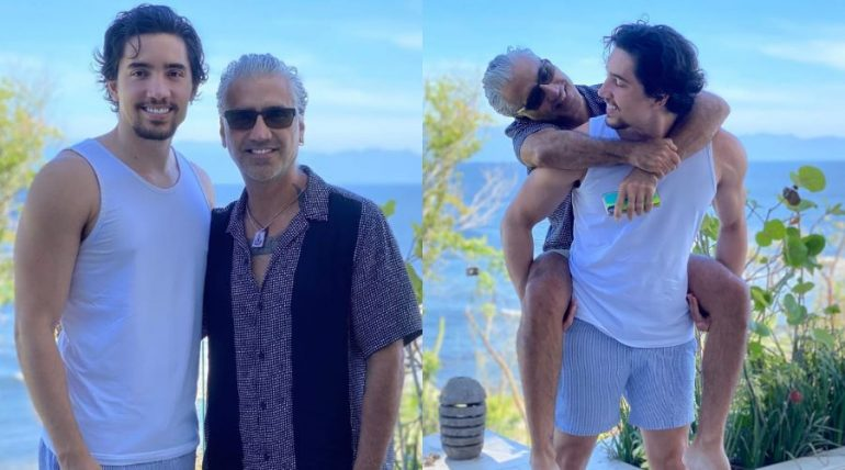 Alex y Alejandro Fernández. Fotos: Instagram