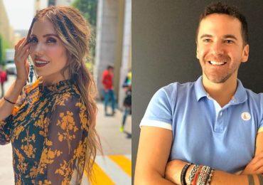Andrea Escalona y Mauricio Mancera. Fotos: Instagram