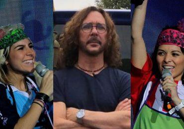 Karla Panini, Óscar Burgos, Karla Luna. Fotos: Archivo / Instagram