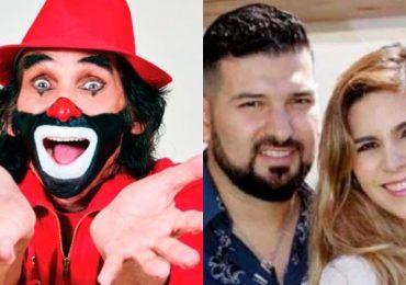 Ricardo González 'Cepillín / Américo Garza y Karla Panini. Fotos: Archivo
