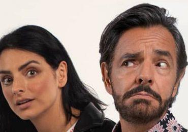 Aislinn y Eugenio Derbez. Foto: Instagram @deviajeconlosderbez