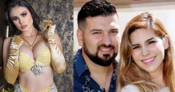 Fabiola Martínez, Américo Garza y Karla Panini. Fotos: Instagram / Archivo