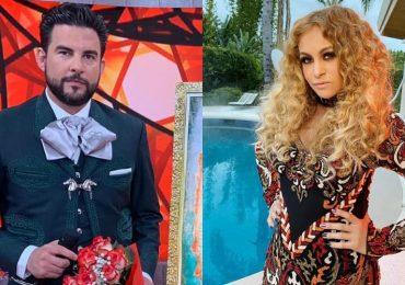 Gerardo Bazúa y Paulina Rubio. Fotos: Instagram